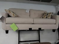 gray suede loveseat Parma Heights, 44130