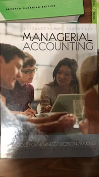 managerial accounting  Toronto, M2J