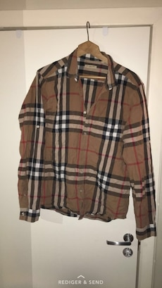 Burberry skjorte, Large