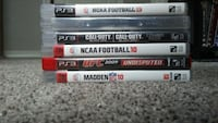All 6 PS3 games for $7 Centerton, 72719