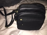 black leather Michael Kors crossbody bag Costa Mesa, 92627