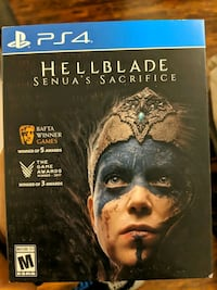 PS4 hellblade game