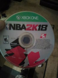Xbox One NBA 2K17 game disc District of Columbia