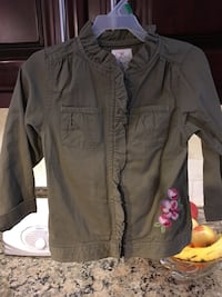 Like new 4t girls army jackets