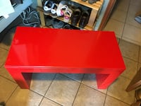 Custom made Red Coffee table / bench Super strong and sturdy Burnaby, V5B 1Y4