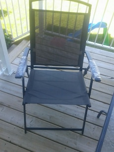 4 patio chair in good condition 60for all