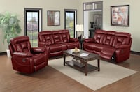 Torino Leather Reclining 2pc Sofa and Love Seat Charlotte, 28216