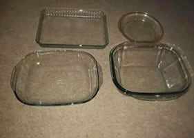 PYREX DISH WEAR TAKE ALL FOR 15$