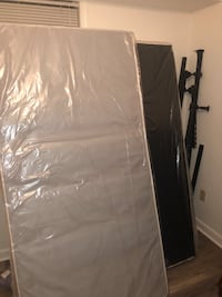 King size split box spring, Two new twin box springs and bed frame New Orleans, 70116