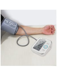 Blood Pressure Monitor Accurate Automatically Measure Pulse Diastolic Systolic Upper Arm Bp Machine for Home Use 2 User Mode with Large Cuff and 2x120 Sets Memory FDA Approved(White) 歐文, 92606
