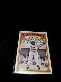 1972 opee chee 448 willie stargell card Kitchener, N2P 1R7