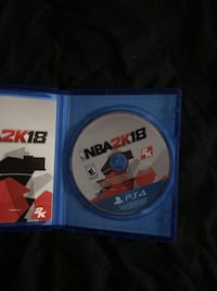 Sony ps4 nba 18 Thunder Bay, P7E 4C7