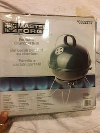 New Master forge charcoal portable grill