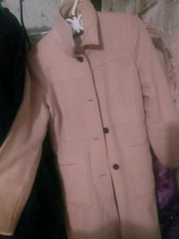 women's pink trench coat St. Catharines, L2W 1B6