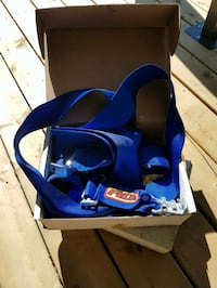 blue and black car seat carrier Sherwood Park, T8A 0M1