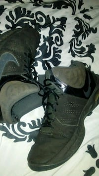 Black and grey nike high tops Cleveland, 37311