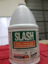 SLASH Grill, Oven, and Fryer Cleaner!