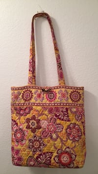 Women's red and Vera Bradley red & yellow floral print shoulder bag Kapolei, 96707