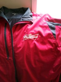 New BUDWEISER jacket Anchorage, 99507