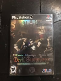 Shin Megami Tensei Devil Summoner 1 & 2 PS2. Used But Good Condition RARE Sykesville, 21784
