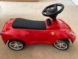 Ferrari ride on toddler