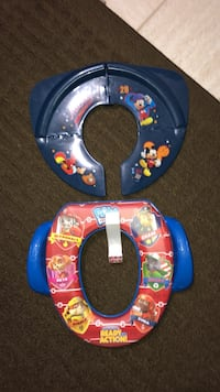 Paw Patrol & Mickey Mouse Potty Trainers.
