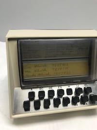 Vintage battery operated Computer Telephone Director