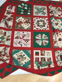 Christmas Quilted Throw Baltimore, 21234
