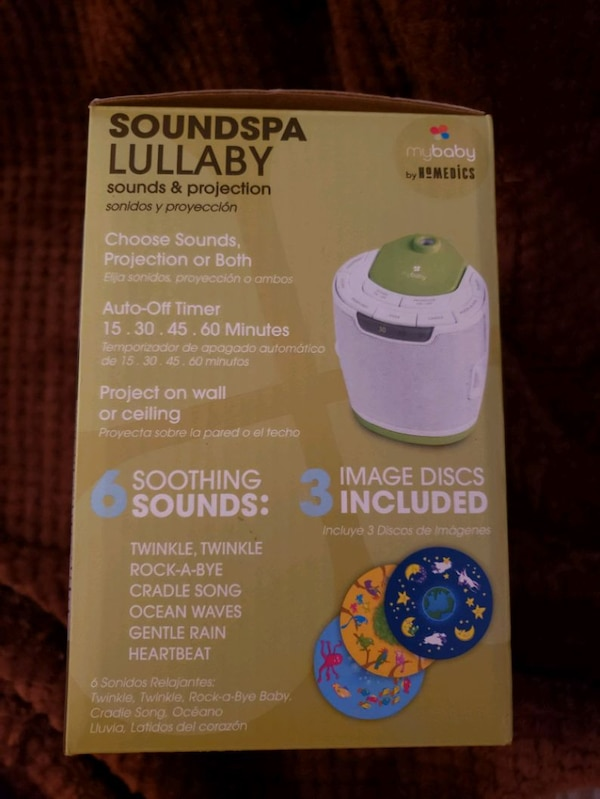 SOUNDSPA LULLABY SOUND AND PROJECTION MACHINE 2