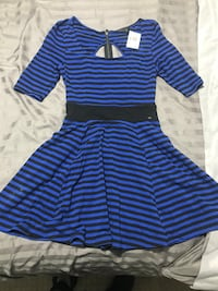 Guess stripped dress NEW!