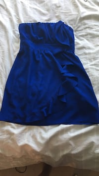 blue spaghetti strap mini dress Vancouver, V6A