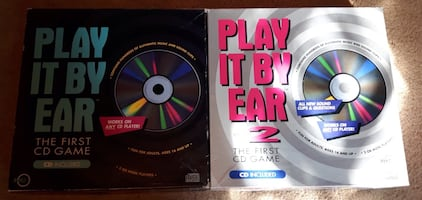 Play It By Ear 1 & 2... $30 Together Firm.
