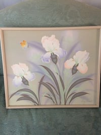 pink and white flower painting La Quinta, 92253