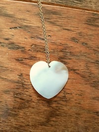 *Price Drop!* Heart Shaped Shell Necklace
