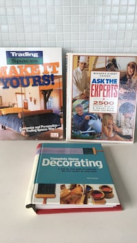 3 decorating books - all for $10
