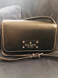 Kate Spade Black Leather Purse 49 km