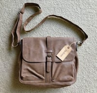 Jackson Leather Messenger Bag Stoneham, 02180