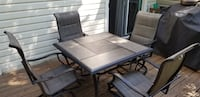 Patio or Deck Furniture - Table & 4 Chairs (less than 6 months old) Laurel, 20723