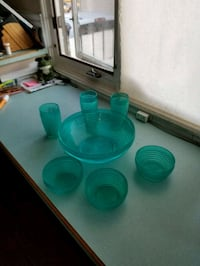 Summer plastic dishes 3129 km