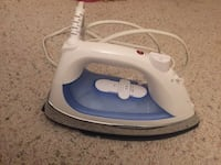 White and blue steam iron 阿灵顿, 22204
