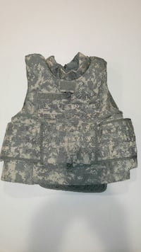 Improved Outer Tactical Vest, ACU, X-Large, Flawless Condition, Never Worn