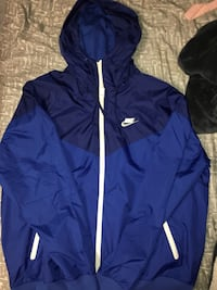 Blue nike windbreaker, medium Lincoln, 68505