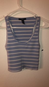 black and blue stripe tank top San Diego, 92113