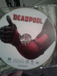 Deadpool DVD disc Valdosta, 31605