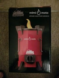 Mimi Moto wood fired cook stove brand new