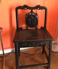 Asian vintage black chairs in very good condition. Sacramento, 95822