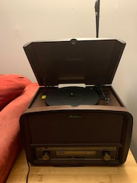 Electrohome record player,CD player, and radio