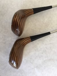 Two Pro Model persimmon head driver and 3 wood Northville township, 48167