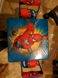 Kids spiderman table 50 km