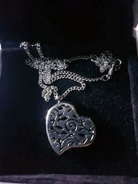 Gorgeous  heart  diffuser  necklace  Whitby, L1N 8X2